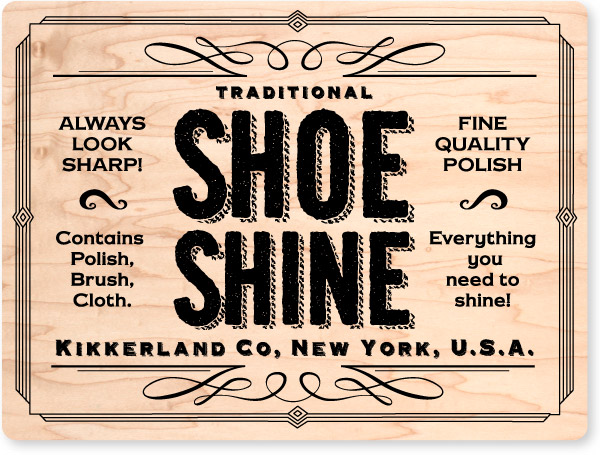 Vintage shoe shine kit eBay 18